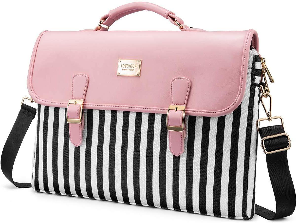 Boss Chick Laptop Bag, Slim-Pink, 15.6-Inch