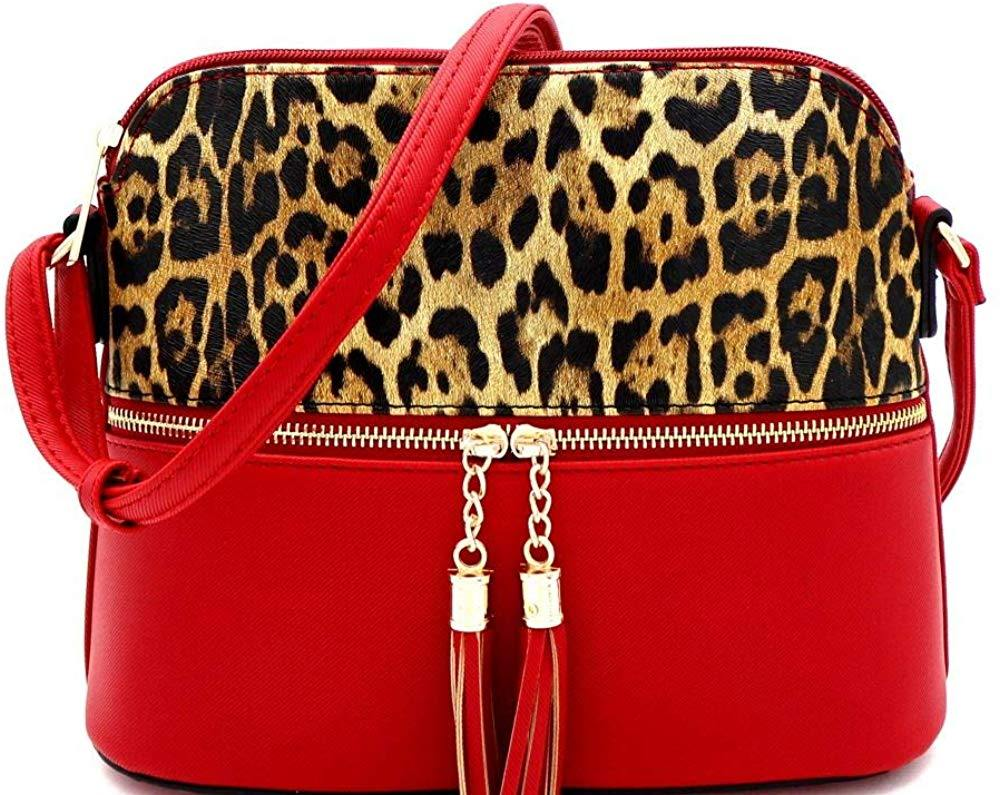 Leopard Print Front Pocket Crossbody - Shop Ja'Kai