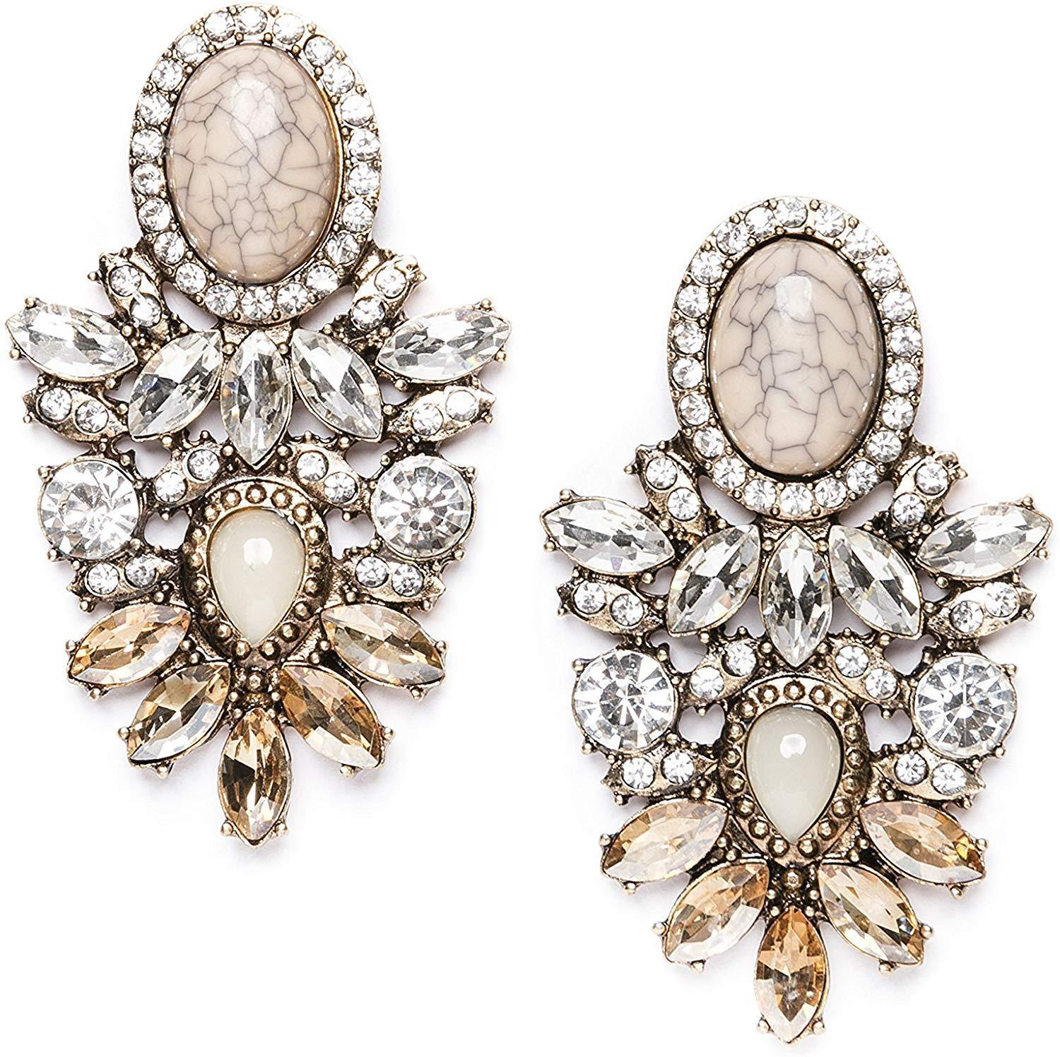 Forever Classy Statement Earrings - Shop Ja'Kai