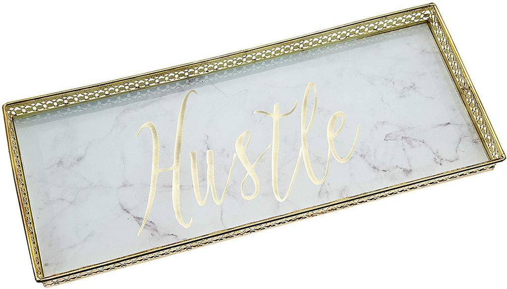 Hustle Vanity Glass Jewelry Tray - Shop Ja'Kai