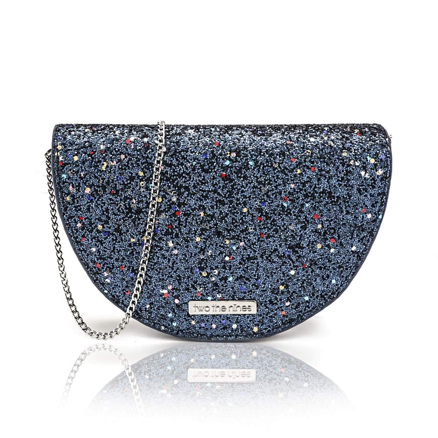 Bling Round Clutch