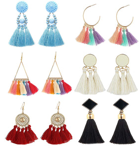Marsha Tassel Earring Set