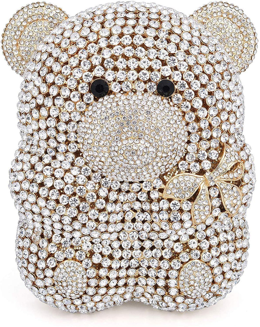 Luxury Crystal Bear Clutch - Shop Ja'Kai