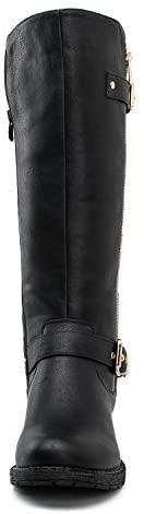 Knee High Leather Sock Boots