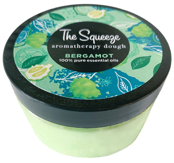 The Squeeze Therapy Dough- Bergamot made with 100% essential oils for self care, aromatherapy stress ball, stress relief FREE SHIPPING