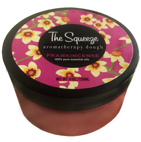 The Squeeze Therapy Dough - Frankincense 100% essential oil stress relief dough for self care, aromatherapy stress ball, stress relief FREE SHIPPING