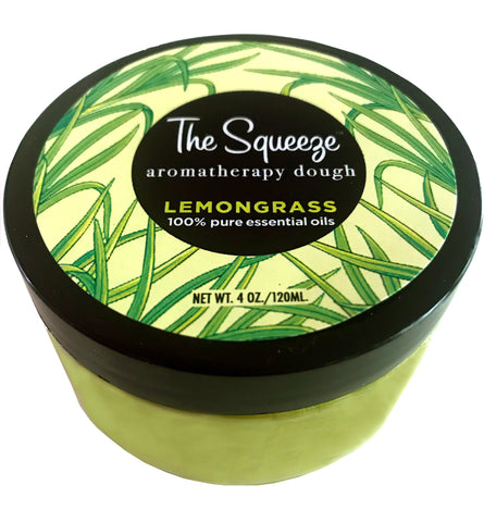 The Squeeze -Lemongrass 100% essential oil stress relief dough for self care, aromatherapy stress ball, stress relief FREE SHIPPING