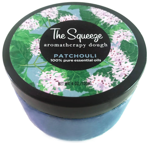 The Squeeze - Patchouli 100% essential oil stress relief dough for self care, aromatherapy stress ball, stress relief FREE SHIPPING