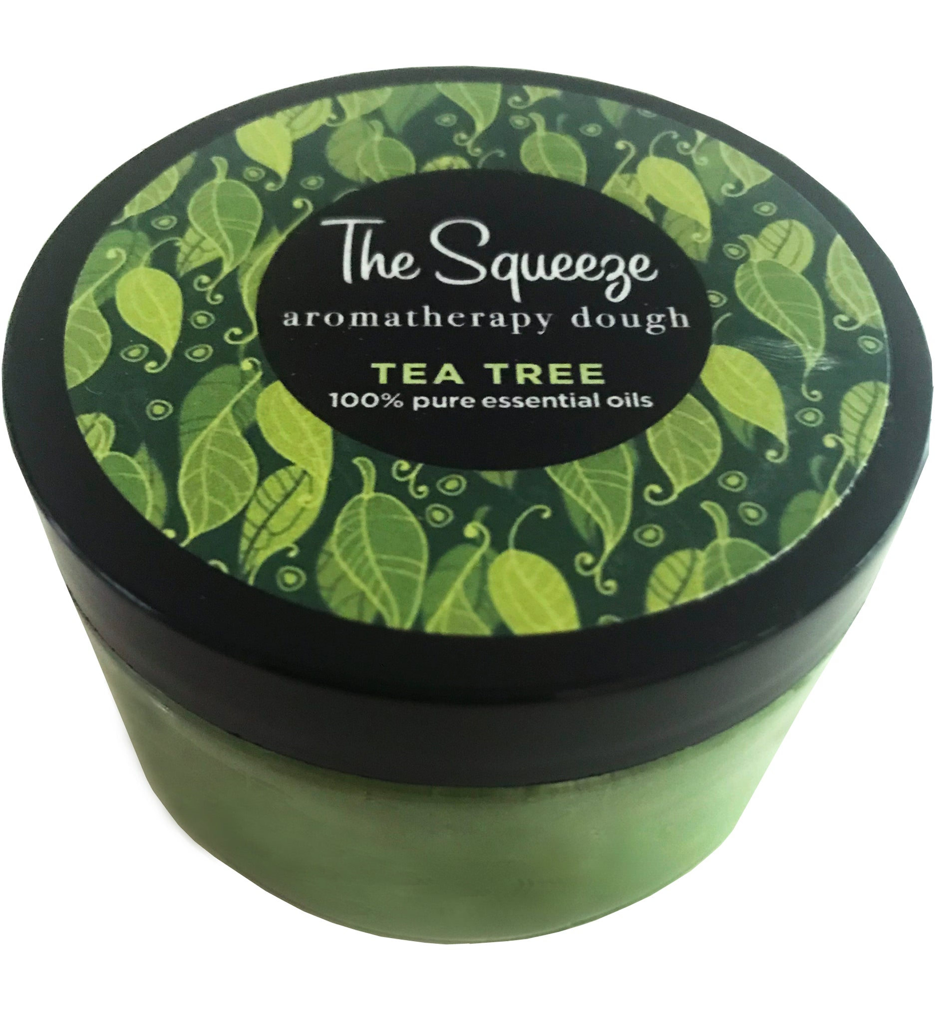 The Squeeze - Tea Tree 100% essential oil stress relief dough for self care, aromatherapy stress ball, stress relief FREE SHIPPING