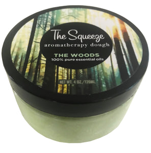 The Squeeze - The Woods 100% essential oil blend stress relief therapy dough for self care, aromatherapy stress ball, stress relief FREE SHIPPING