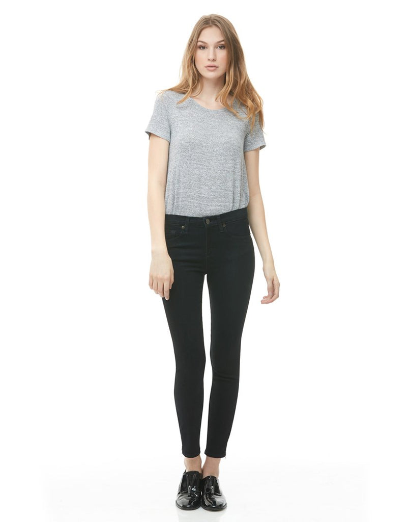 Rachel Skinny High-Rise Black