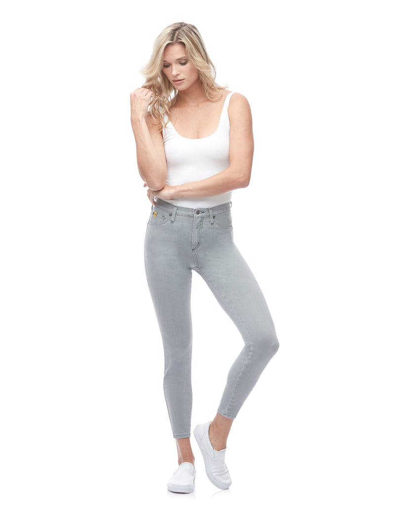 RACHEL SKINNY JEANS / Light Grey