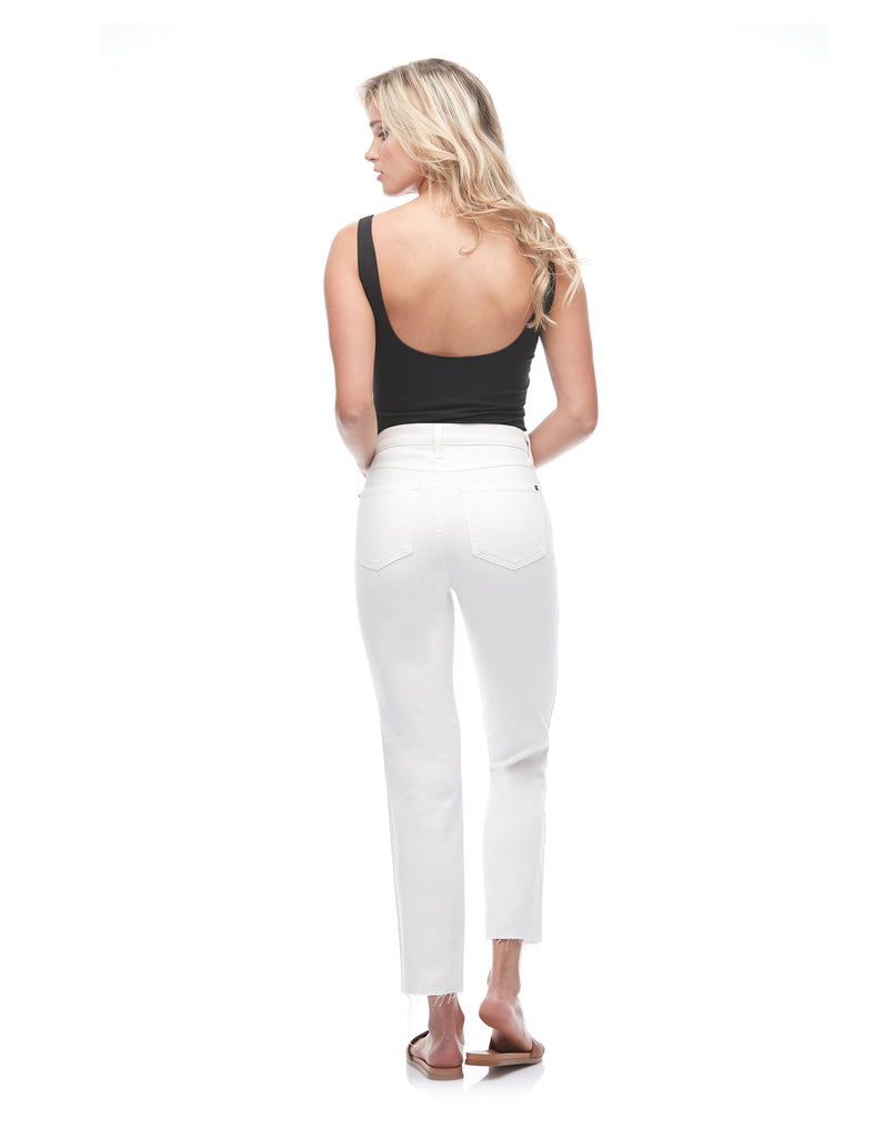 CHLOE STRAIGHT JEANS White Dove