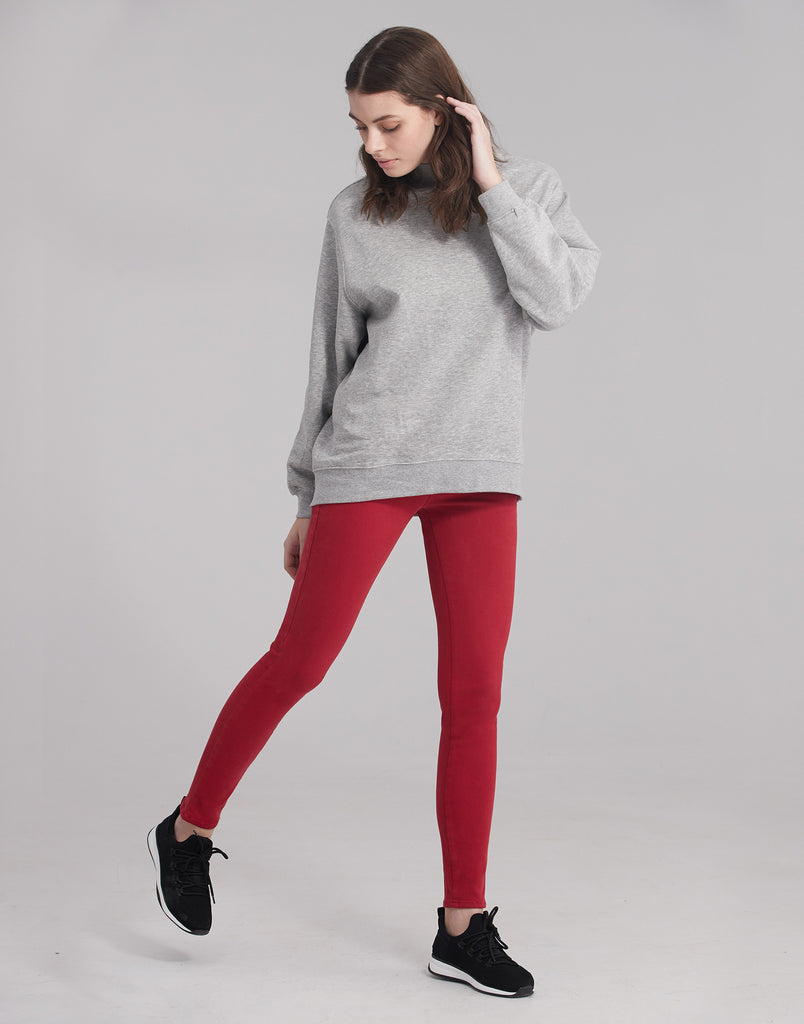 RACHEL SKINNY JEANS / Red Lip