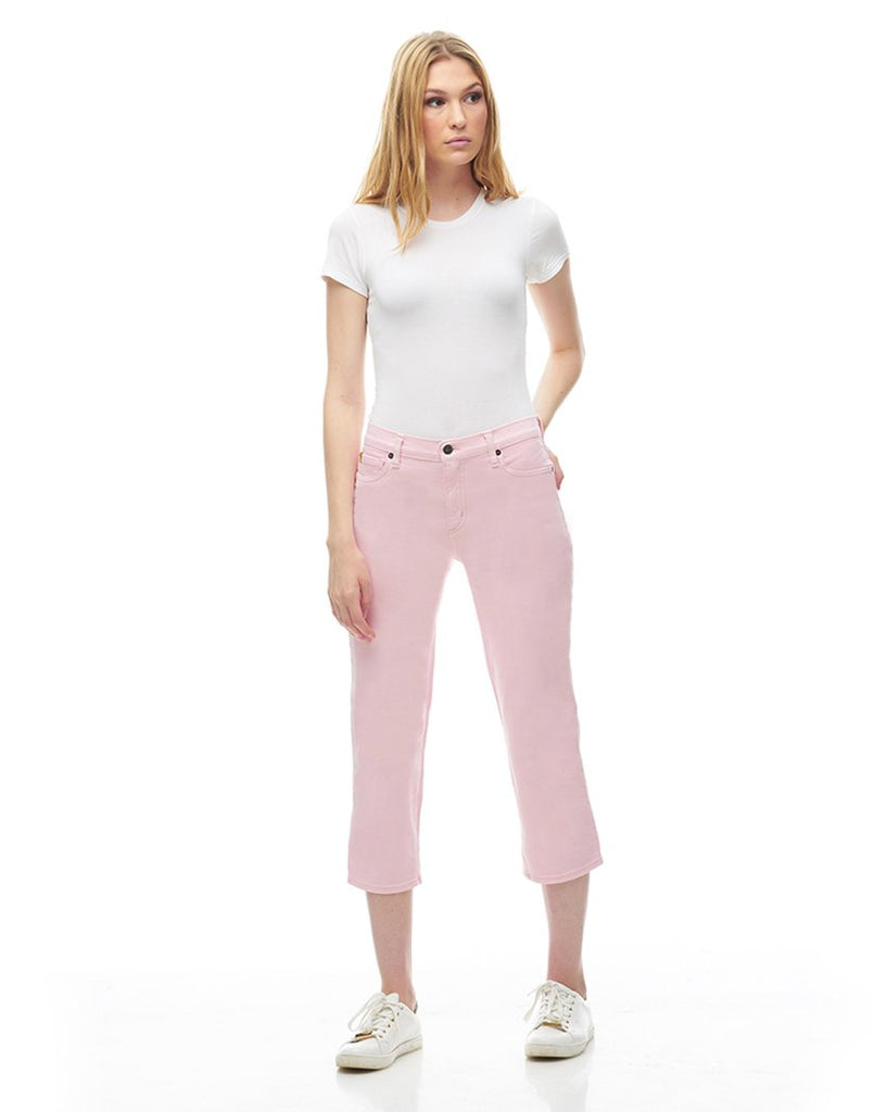 CHLOE CROP STRAIGHT JEANS Lotus