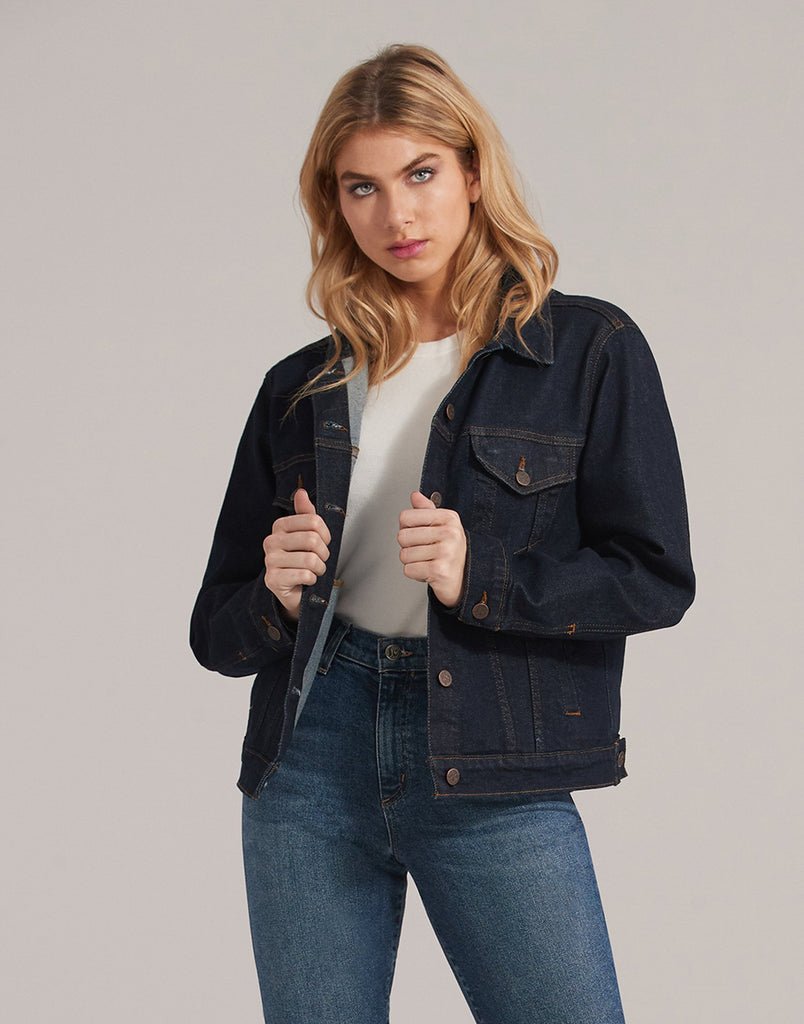 Classic Jean Jacket Fearless Yoga Jeans