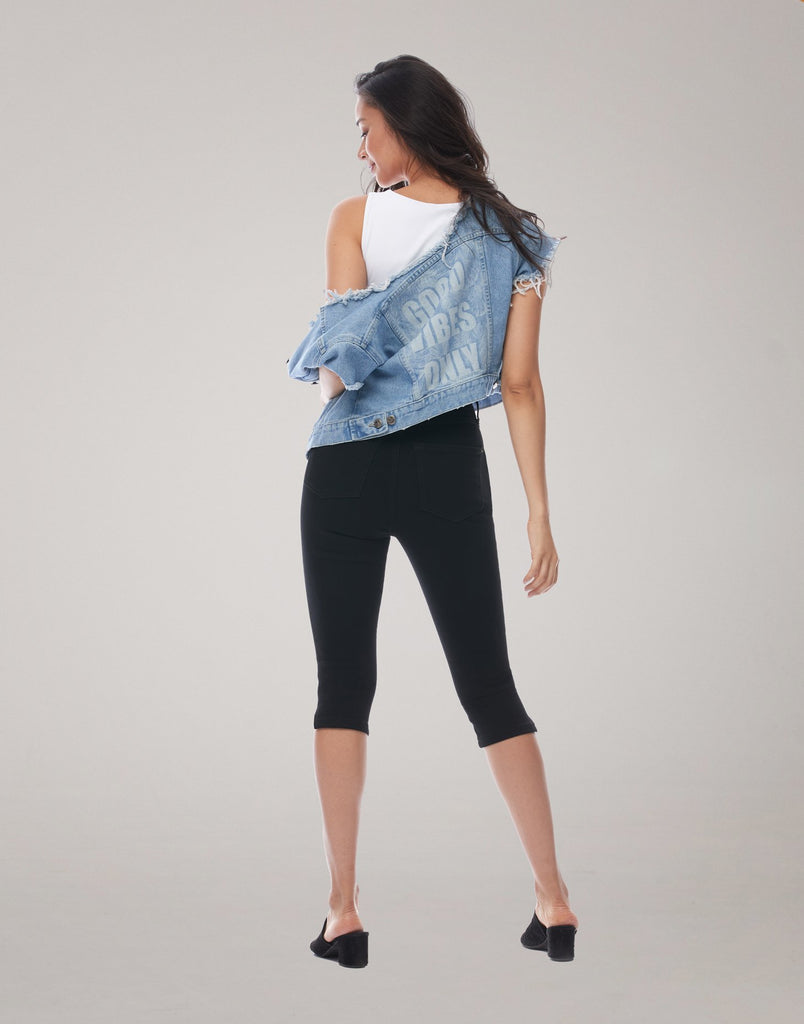 RACHEL SKINNY JEANS / Black Light
