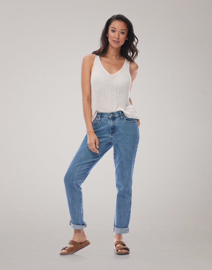 MALIA RELAXED SLIM JEANS / Lake House