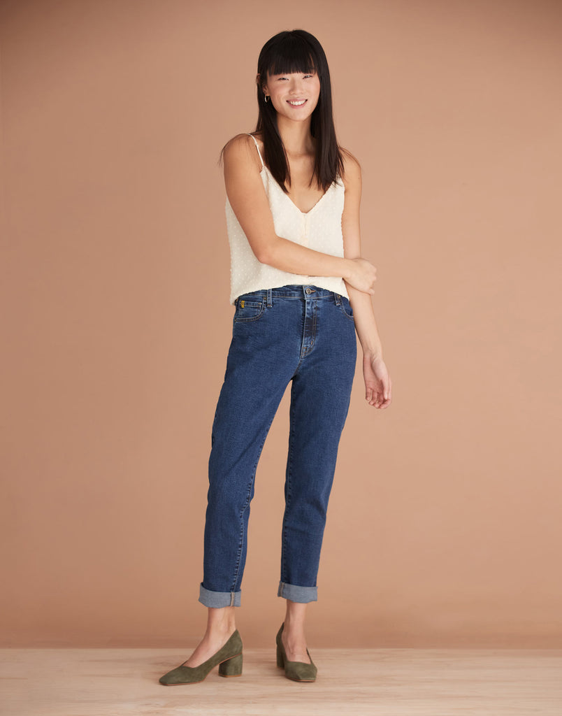 High Rise Malia Relaxed Jeans Bailey Yoga Jeans