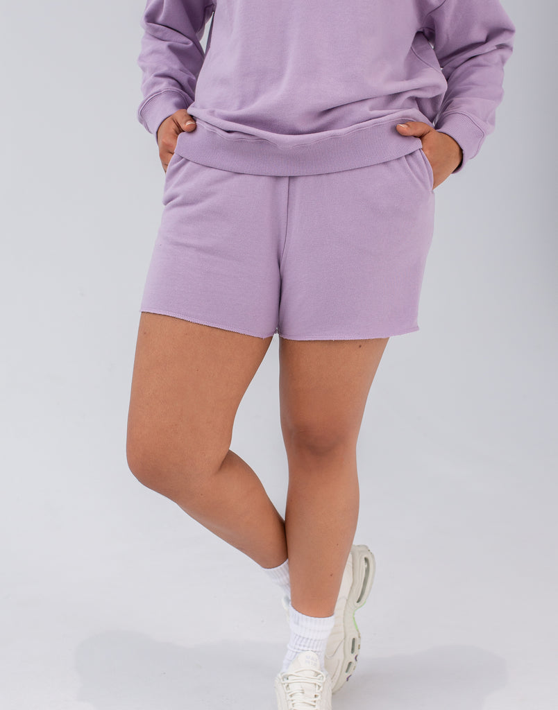 RELAXED SHORTS   / LAVENDER FROST