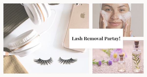 4 Easy Steps to Make Your Mink Eyelash Removal a Spa Party
