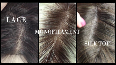 Lace Top VS Monofilament Top VS Silk Top