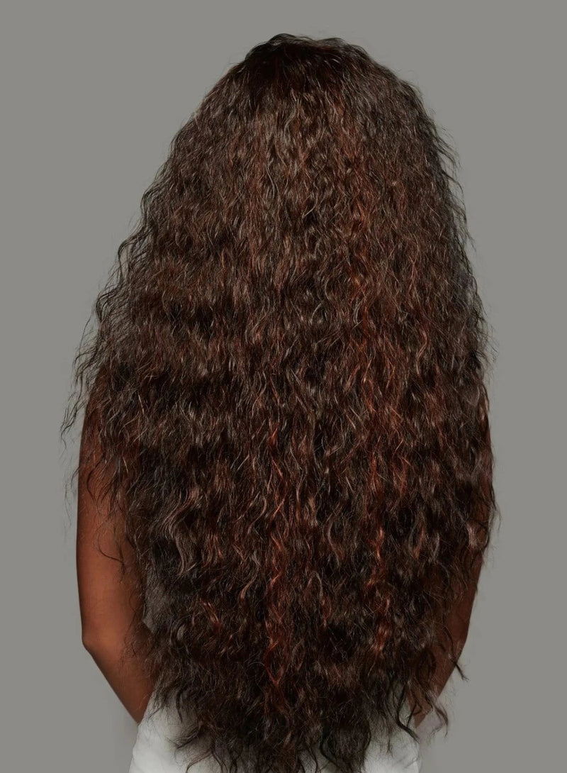 Cleopatra Synthetic Lace Wig | Black Curly Lace Wig | Essence Luxe Couture Wigs