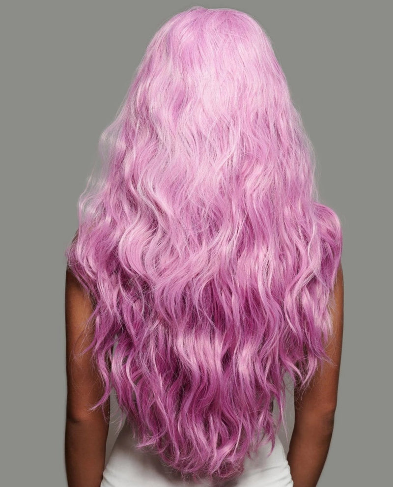 'Femme Fatale' Synthetic Wig | Magenta Pink Wig | Essence Luxe Couture Wigs