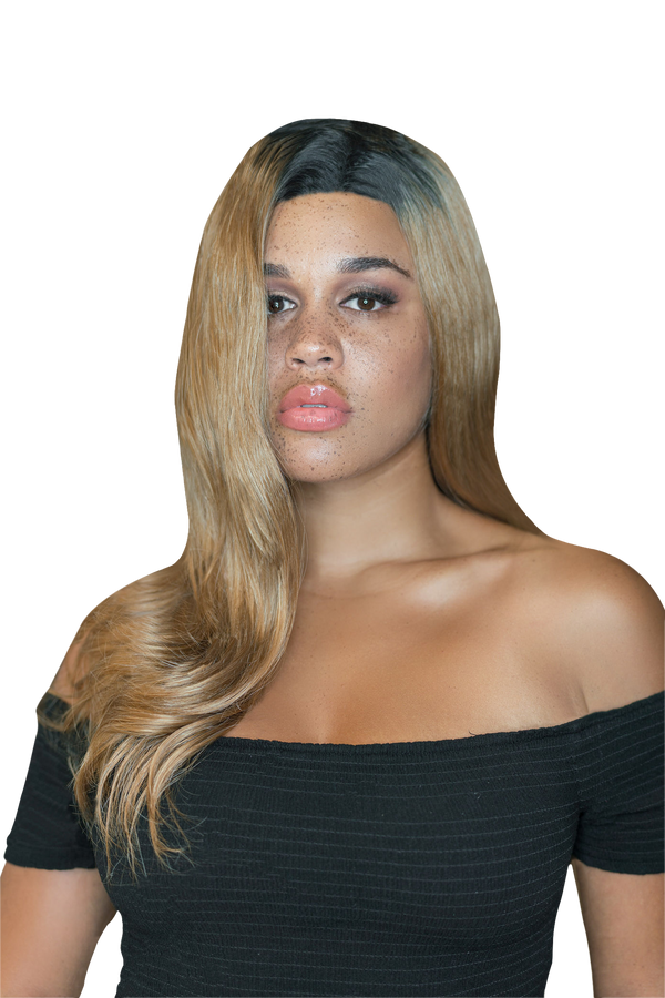 All Gains Synthetic Wig