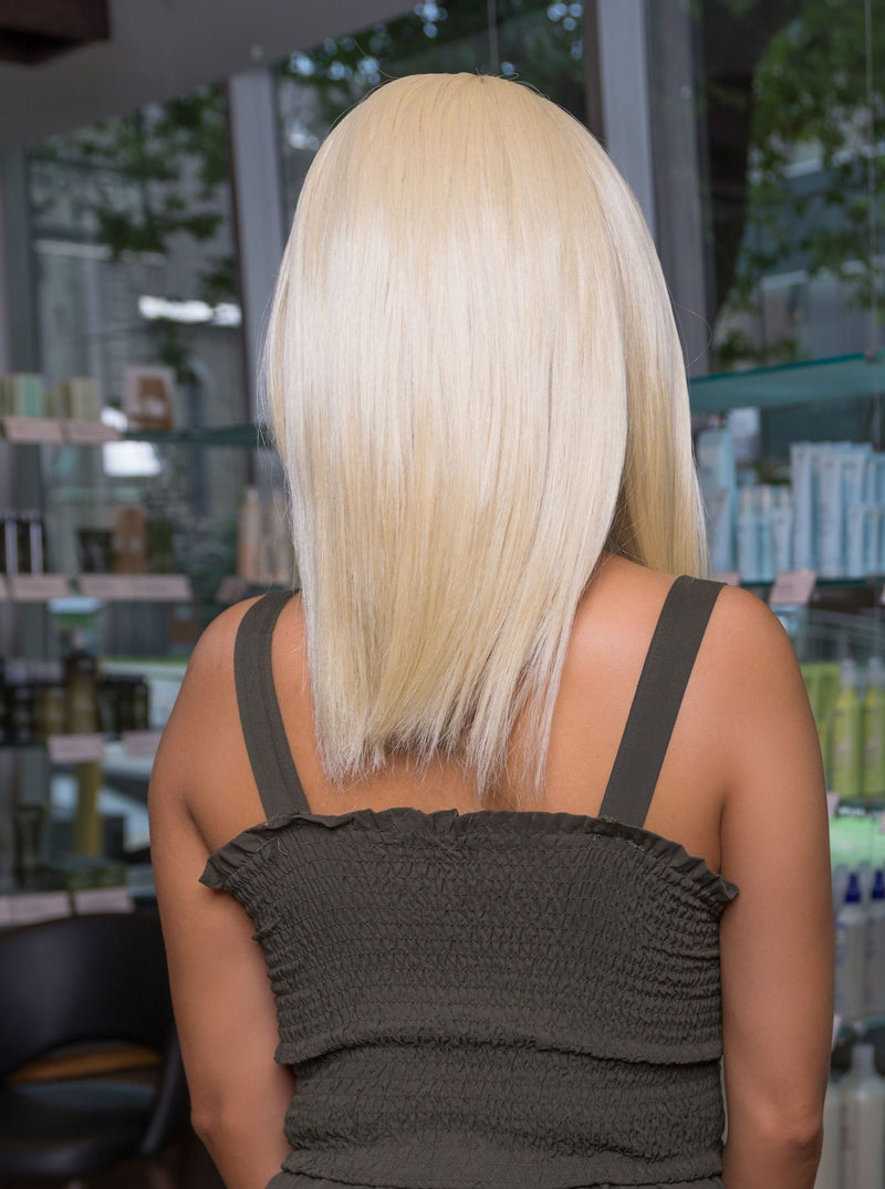 Natural Platinum Blonde Lace Front Wig | Essence Luxe Couture Wigs