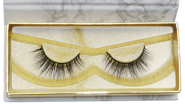 Buy 'THE 6IX' 3D Mink Strip Lashes - Cruelty Free | Essence Couture