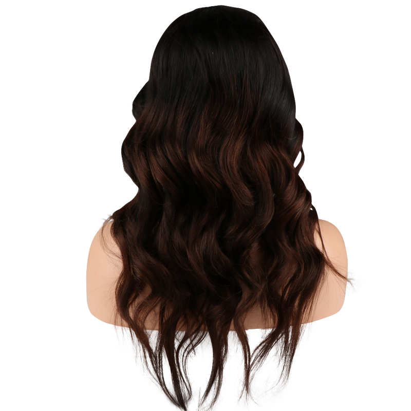 Buy Cashmere CAPELLINO | Balayage Luxury Lace Wig | Essence Couture (Back)