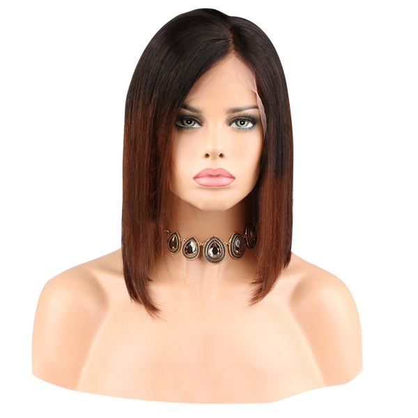 Buy ESCADA | Brown Balayage Ombre Full Lace Wig | Essence Luxe Couture