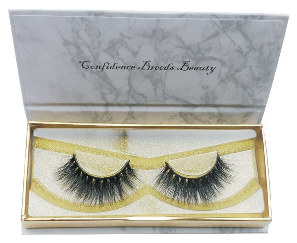 Buy 'H.B.I.C' 3D Thick Mink Lashes - Cruelty-Free | Essence Couture (Box)