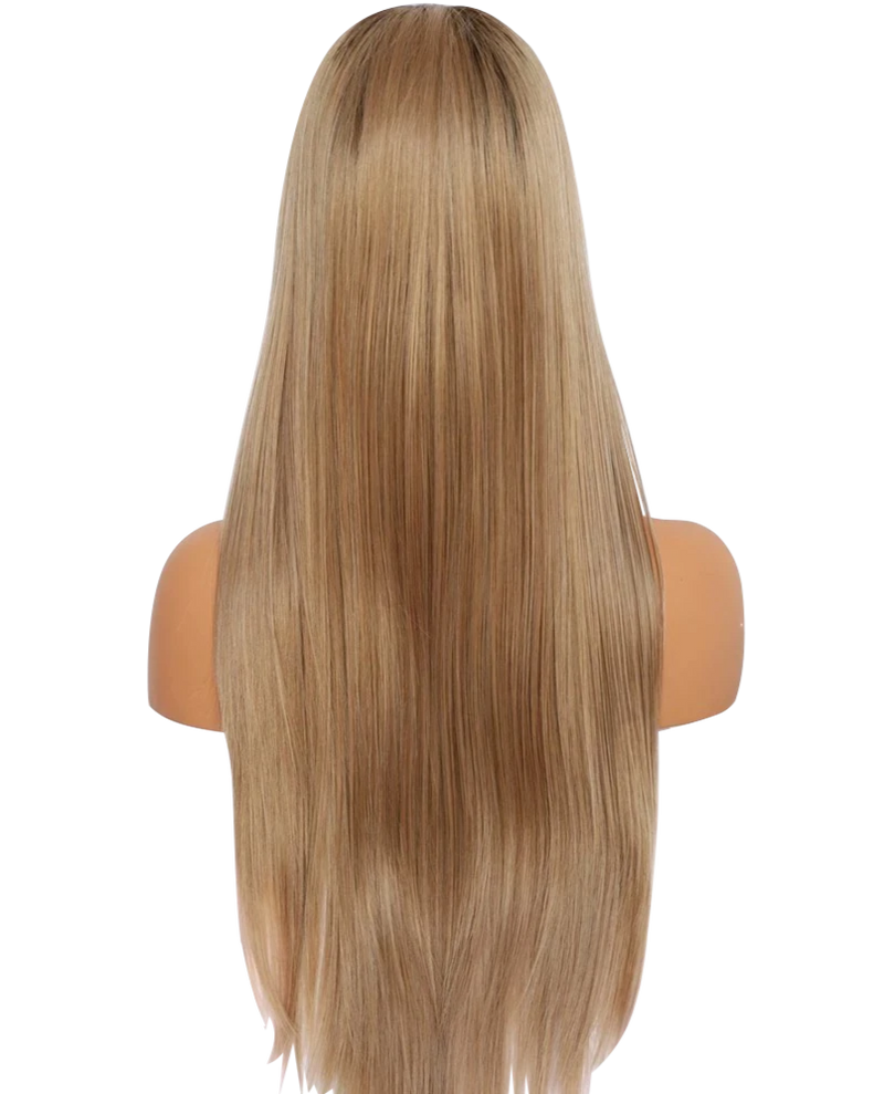 'Family Affair' Synthetic Lace Wig | Long Blonde Lace Wig | Essence Luxe Couture Wigs