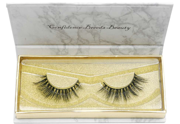 Buy 'LOW KEY' Natural 3D Mink Lashes - Cruelty-Free | Essence Couture