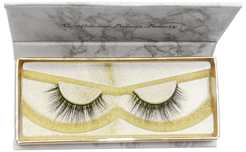 Buy 'THE 6IX' 3D Mink Strip Lashes - Cruelty Free | Essence Couture (Box)