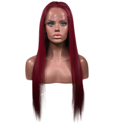 Wine Leon Full Lace Wig