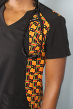 Load image into Gallery viewer, Sankofa Scrub Top