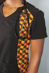 Sankofa Scrub Top