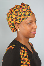 Load image into Gallery viewer, Sankofa Surgical Cap