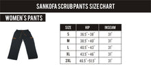 Load image into Gallery viewer, Sankofa Cargo Scrub Pants