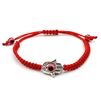 Healing Hamsa Red String Protection Bracelet - One Lucky Wish