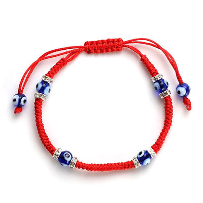 Sixth Sense Red String Protection Bracelet - One Lucky Wish