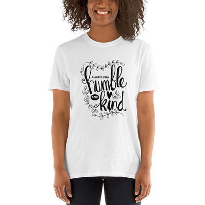"""Humble & Kind"" Short-Sleeve Unisex T-Shirt - One Lucky Wish"