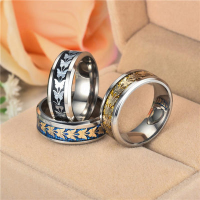 Stainless Steel Vintage Butterfly Unisex Bohemian Ring - One Lucky Wish
