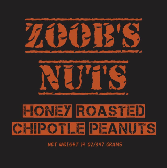 Honey Roasted Chipotle peanuts