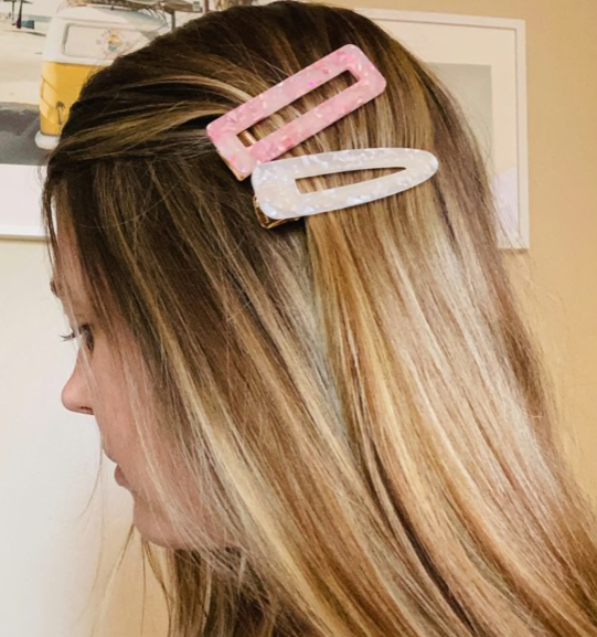 Acrylic Hair Barrettes