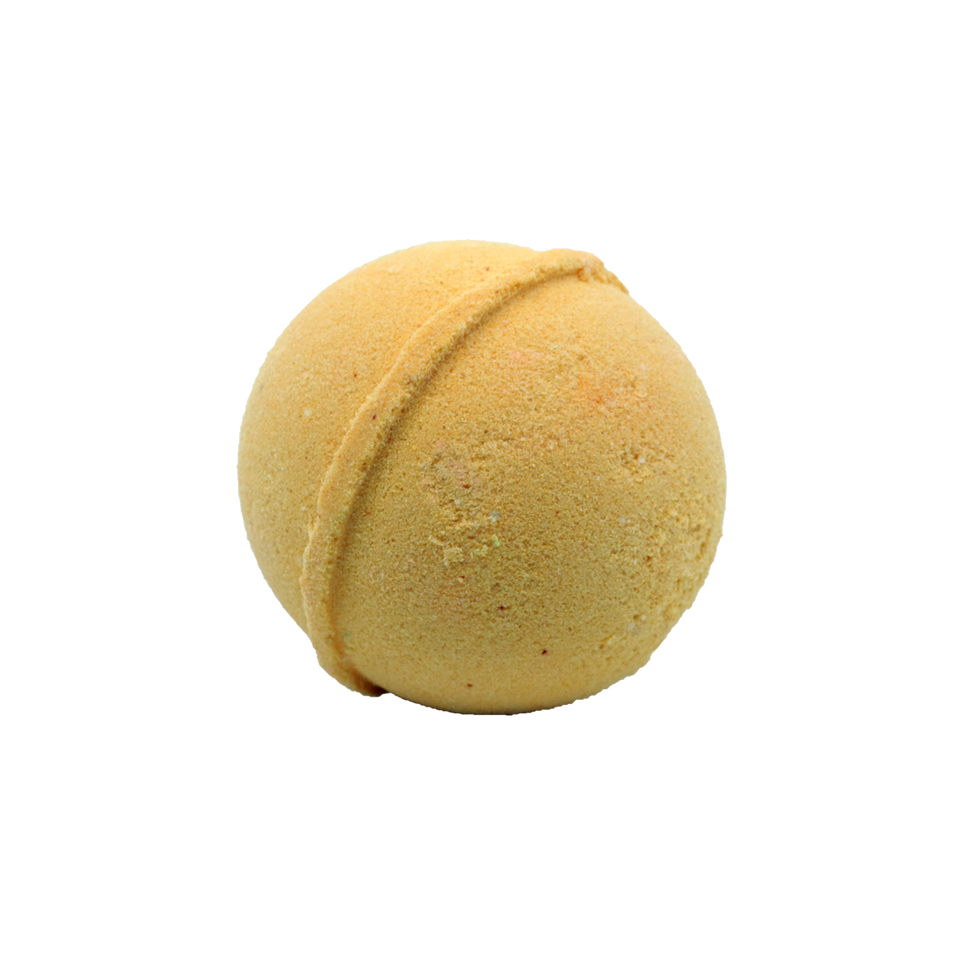 Kushly Citrus CBD Bath Bomb - 25mg
