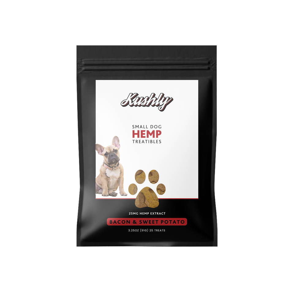 Small Dog Hemp Treats - Bacon & Sweet Potato